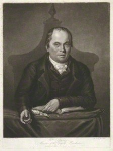NPG D34258; William Gadsby by William Barnard, published by  L.I. Higham, after  F. Turner