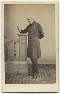 NPG x132252; Edward Bishop Elliott by James Holroyd
