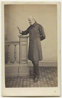 NPG x132252; Edward Bishop Elliott by James Holroyd