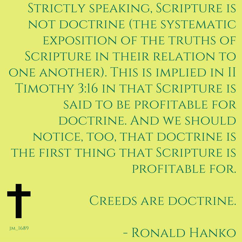 creeds-are-doctrine