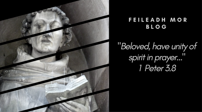 -Beloved, have unity of spirit in prayer...- 1 Peter 3.8
