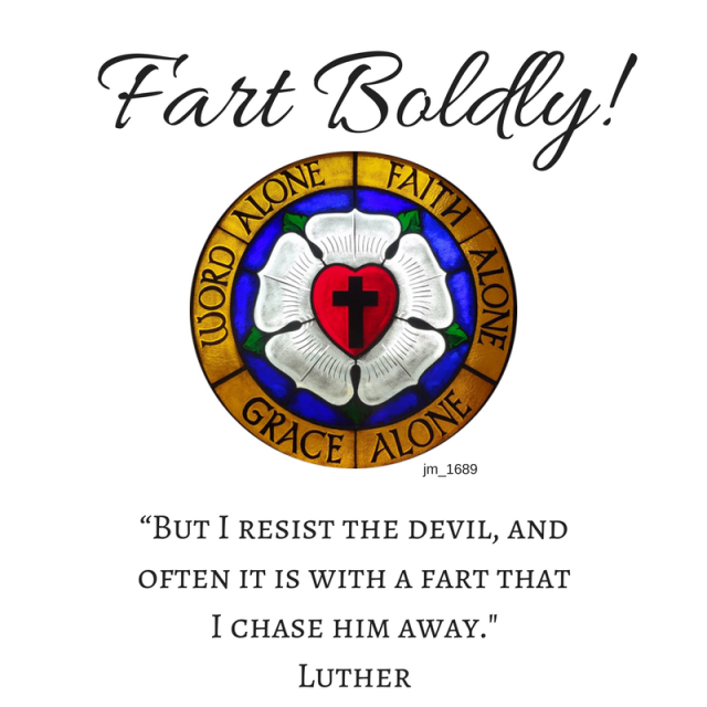 fart boldly